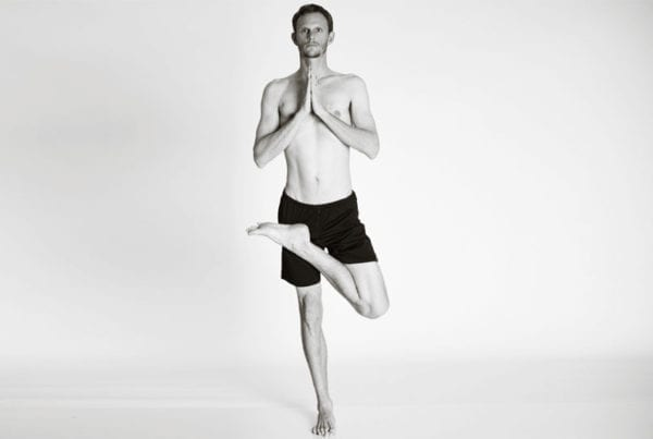 bikram hot yoga Asheville tree pose