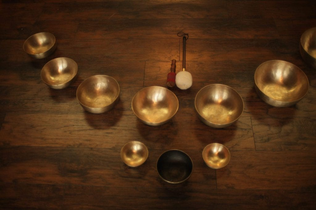 yin yoga sound bath